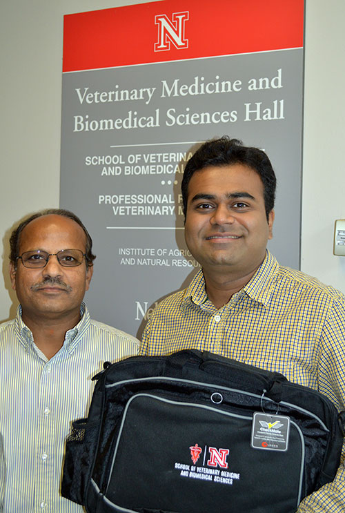 Photo of Dr. Asit Pattnaik and Anshuman Das