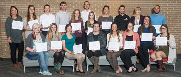 Photo of the recipients of the J. J. Ogle Fellowship